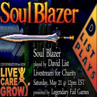 SOUL BLAZING FOR CHARITY!