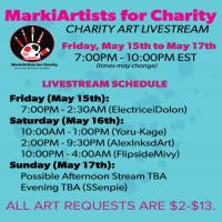 MarkiArtists For Charity May 2015 Banner